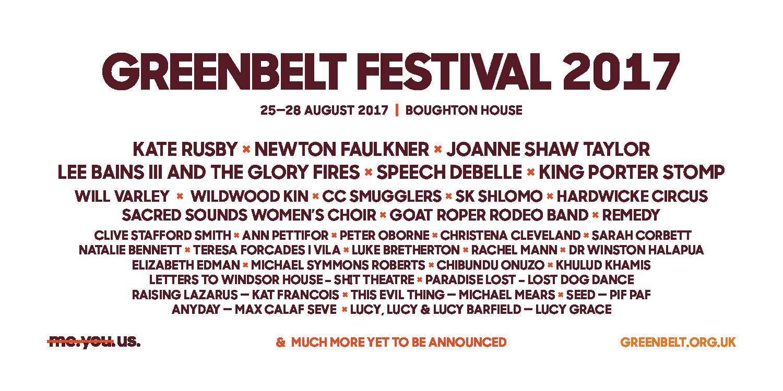 Lineup Announcement