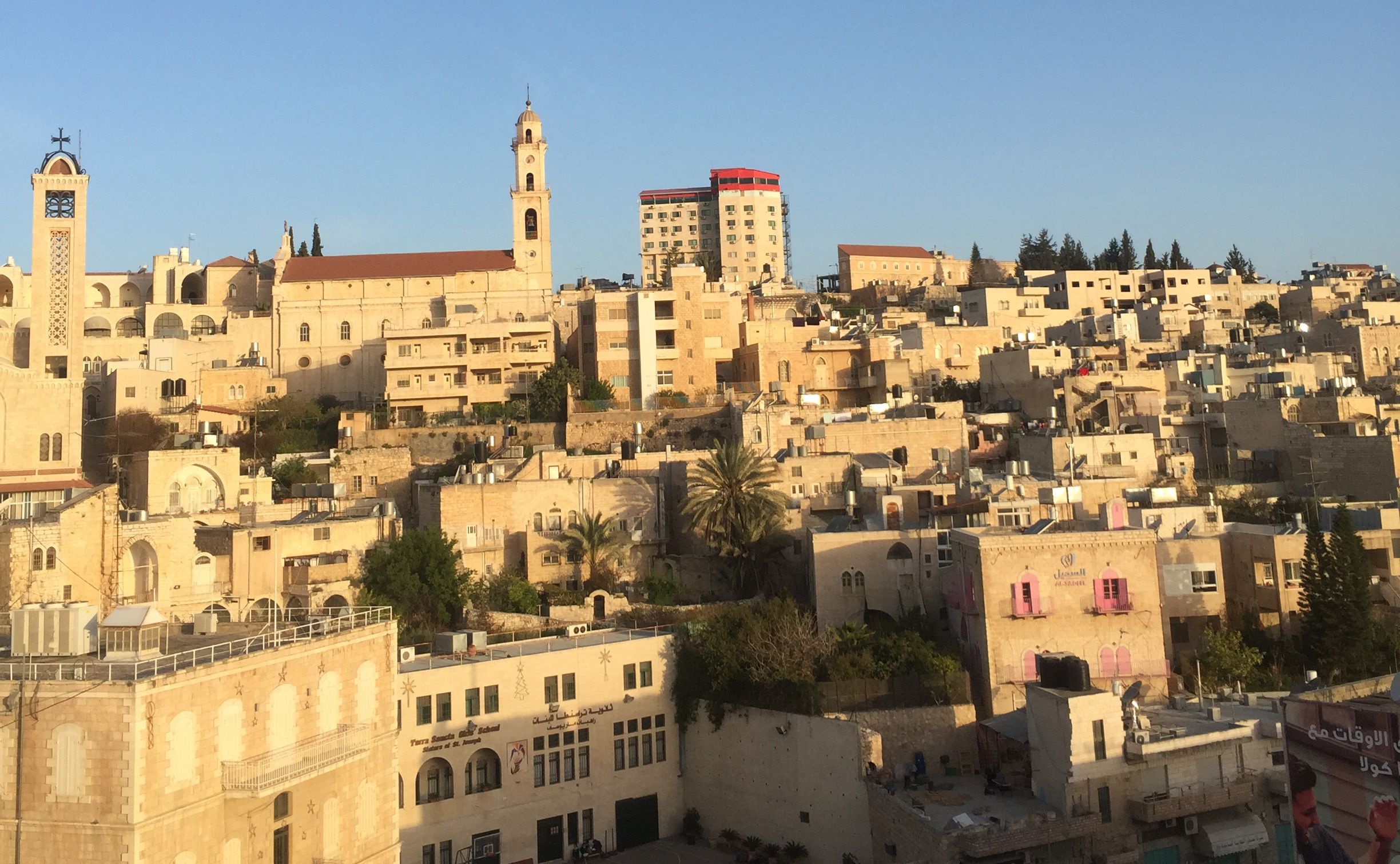 Exclusivity & hope: a view from Bethlehem