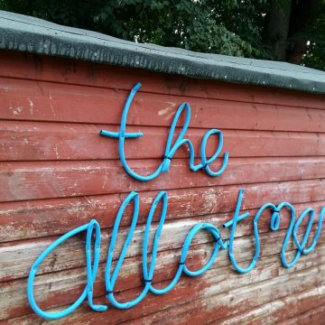 Allotment Gallery: artists' call