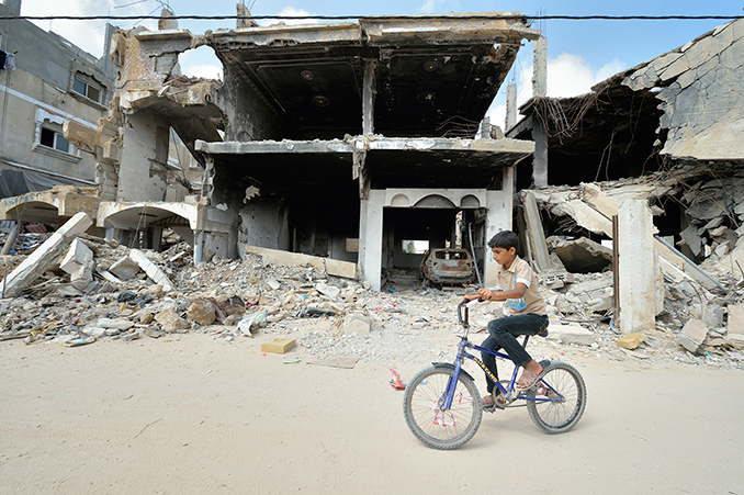 Fear and hope after visiting Gaza