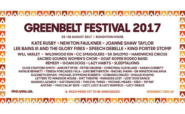 First lineup announcements for GB 2017