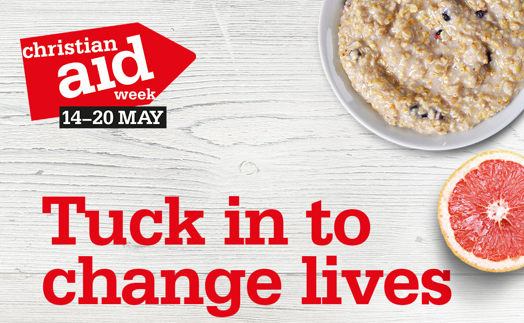 Christian Aid's Big Brekkie: tuck in, save lives