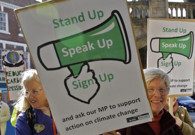 Speak Up for the climate with Christian Aid