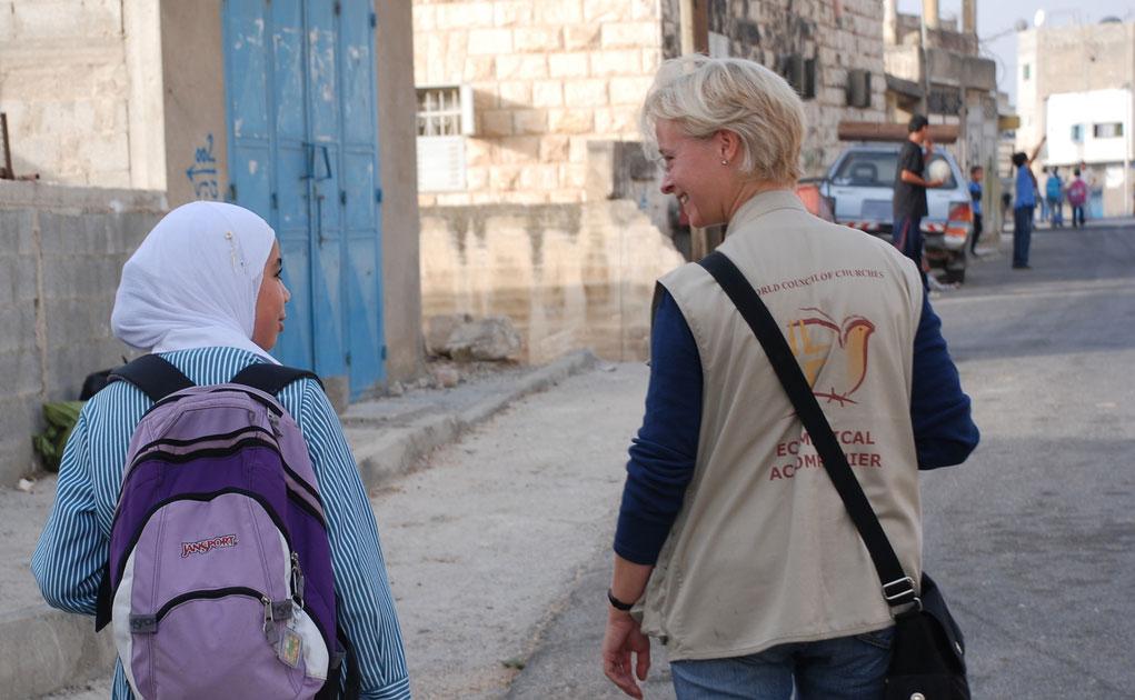 Protective presence in Palestine