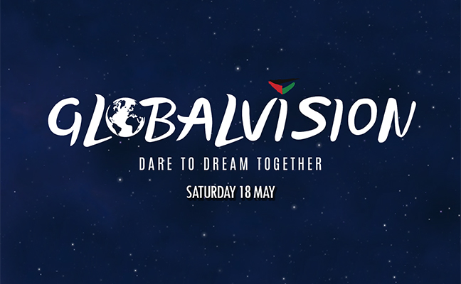 Make it GlobalVision this Saturday, 18th of May