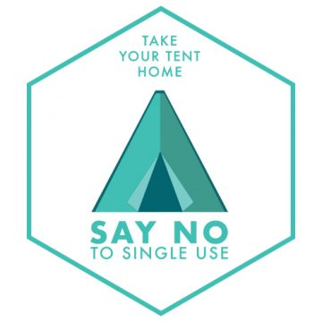 Independent festivals say no to single-use tents