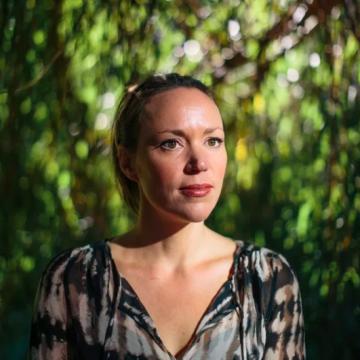 The author Hannah Critchlow
