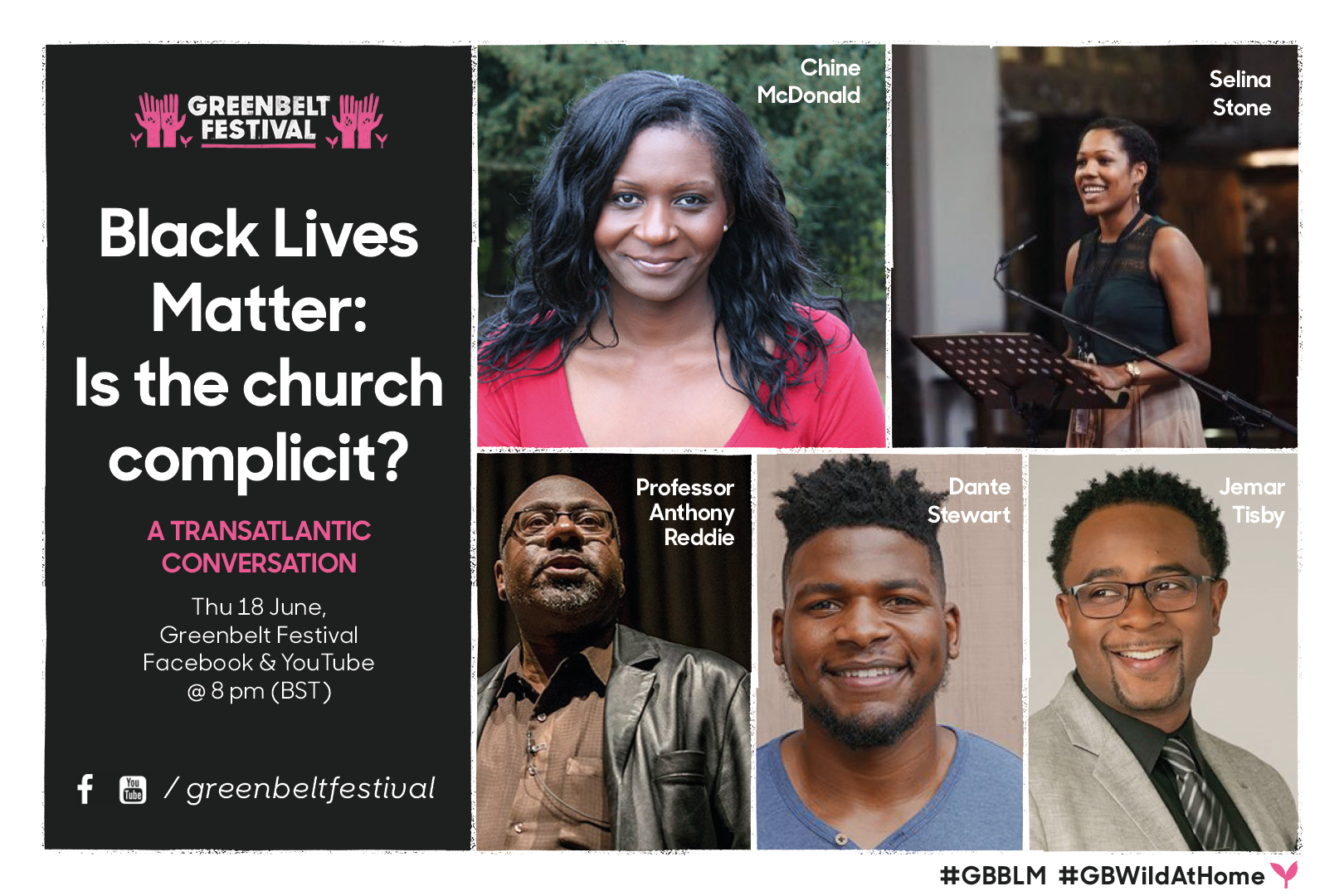 Black Lives Matter: Is the church complicit? A transatlantic conversation